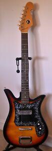 1960's/70's Vintage K Tulip Electric Guitar (Teisco E-100)