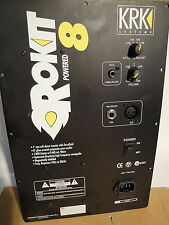 KRK ROCKIT 8 - 140W Bi-AMPED AUDIO PLATE AMPLIFIER --  100V INPUT JAPAN