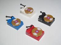 Lego ® Accessoire Minifig Platine DJ & Disque Musique Choose Color NEW