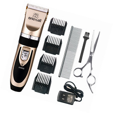 Pet Grooming Clipper Kits Low noise oneisall Dog and Cat Rechargeable Cordless E