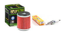 Tune Up Kit For 09-17 Yamaha WR 450F HiFlofiltro Oil Filter NGK CR8E Spark Plug