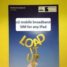 o2 4G/3G Data Pay As You Go Micro Nano Standard 02 SIM Card for ANY Apple iPad