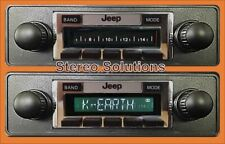 NEW 300 watt AM FM Stereo Radio & CD Player '78-86 Jeep CJ 5, 7, 8 iPod Aux in
