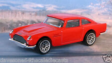 1963 ASTON MARTIN DB5 1:64 (Red) Hot Wheels MIP Diecast Passenger Car