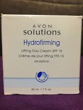NEW Avon Solutions Hydrofirming Lifting Day Cream SPF 15 1.7 oz.