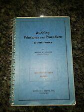 Auditing Principles and Procedures Arthur W. Holmes (1968), Illustrative Audit