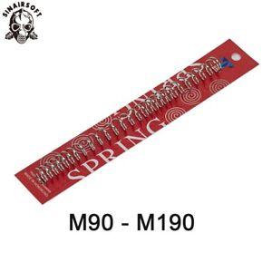 SHS M100 M110 M120 M130 M140 M150 M160 M170 M190 Upgrade Spring for Airsoft AEG