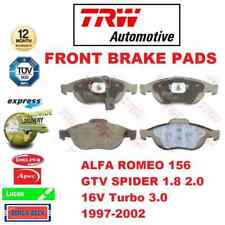 FOR ALFA ROMEO 156 GTV SPIDER 1.8 2.0 16V Turbo 3.0 1997-2002 FRONT BRAKE PADS