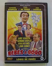 DVD BEBES A GOGO - Louis DE FUNES / Raymond SOUPLEX / Jane SOURZA
