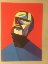 ADAM neate, carta di invito esposizione, la pittura Elms lesters stanze, 2015