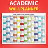 2019 2020 ACADEMIC mid year wall planner calendar school university planner