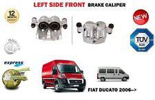 FOR FIAT DUCATO 2.0D 2.3D 3.0D MULTIJET 2006->NEW FRONT LEFT SIDE BRAKE CALIPER