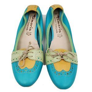 Tamaris Trend Shoes Ballet Flats Slip On Shoes Size 39 US 8.5