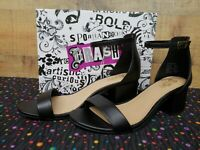 Brash 182043 NAOMI Black Women's Heels Shoes Size 7.5 NWB