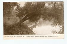 PC,Cut Off,Sterling,Ill.,Where Under Bending Willows the Quiet Water Flows,1909
