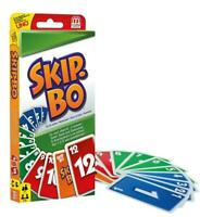 Mattel - Skip-Bo - Skipbo Kartenspiel Familienspiel Patience Skippo