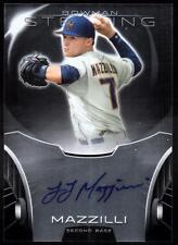 ET 2013 Bowman Sterling Prospect Autographs #LM L.J. Mazzilli