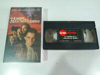 EL HOMBRE DE LA MASCARA DE HIERRO LEONARDO DICAPRIO - VHS Cinta Español