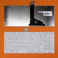 For Toshiba Satellite L850 L850D Laptop Standard Layout Keyboard White
