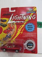 JOHNNY LIGHTNING THE CHALLENGERS BEAT THEM ALL CUSTOM MUSTANG WHITE LIGHTNING W+