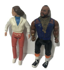 """Vintage Lot 2 A-Team Action Figure Mr T Any 1983 6"""""""