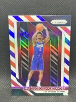 2018 Panini Prizm Red White Blue Shai Gilgeous-Alexander Centered RC