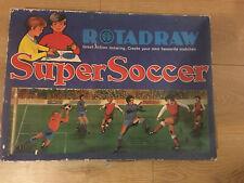Vintage rotadraw Spirograph tipo Creativo Juguete De Dibujo-Super Fútbol/Fútbol