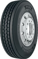4 New Yokohama 712l  - 11/r22.5 Tires 11225 11 1 22.5
