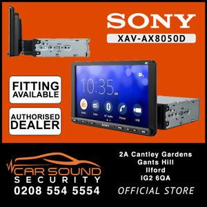 "Sony XAV-AX8050D 9"" Apple CarPlay Android Auto DAB Receiver Bluetooth Screen"