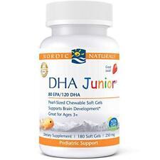 Nordic Naturals - Dha Junior, 80 EPA/120 DHA, 180 Softgels