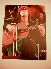 Mike Oldfield Guitarist 12x9 Coffee Table Book Photo Page
