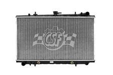 Radiator-1 Row Plastic Tank Aluminum Core CSF 2465 fits 90-92 Nissan Stanza