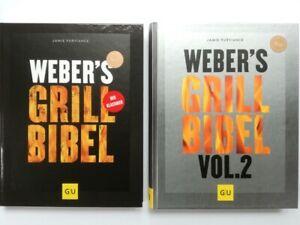 Weber´s Grillbibel Vol. 1 & 2 im Set - Jamie Purviance - Aktuelle Ausg. geb.