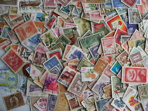 China & PRC 250 a double sized elusive mixture (duplicates, mixed condition)