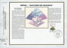 FEUILLET CEF / DOCUMENT PHILATELIQUE / NATURE DE FRANCE MARCASSITE 1986 PARIS