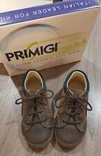 Primigi Baby Boy Italian Leather Lace-up Shoes Size 8