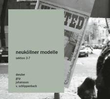 Neukollner Modelle / sektion 3-7 / CD / Bertrand Denzler, Joel Grip