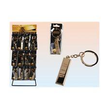 Portachiavi in metallo lingotto d'oro cm. 4,5