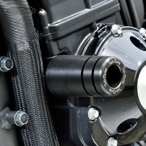 SATO RACING Frame Sliders - Kawasaki ZRX1100 ZRX1200/R / DAEG   [K-ZRXFS-BK]