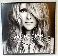 Céline Dion Loved Me Back to Life CD 886971371529 Booklet & Sleeve 2013 New 🎸