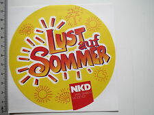 Aufkleber Sticker NKD Lotterie (M1872)