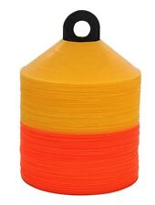 100 Disc Cones Soccer Football Field marking Coaching FREE SHIPPING & STAND