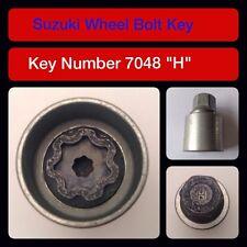 """ORIGINALE Suzuki bloccaggio dado ruota / chiave 7048 """"H"""""""