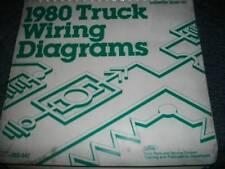 1980 FORD BRONCO OEM WIRING DIAGRAM MANUAL SCHEMATICS
