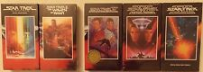 Lot 5 Star Trek Movies VHS, I, II, IV, V AND VI ~ BRAND NEW SEALED ~