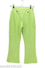 JACADI Girl's Soulier Lime Green Acrylic Wool Blend Pants Sz 10 Years  NWT $68