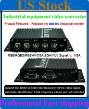 for Fanuc monitor replacement ,industrial device to VGA LCD CRT Video Converter