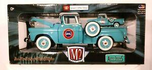 M2 Machines 1958 Chevrolet Apache Step Side Die Cast Truck S18 16-13 1/24 1/64