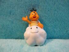 "2007 POPCO Nintendo Super Mario World Toy - LAKITU Cloud Small Mini Figure 2.25"""