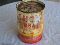 A Vintage Shell Retinax Multi Purpose Imperial Measure 5 Pound Grease Tin
